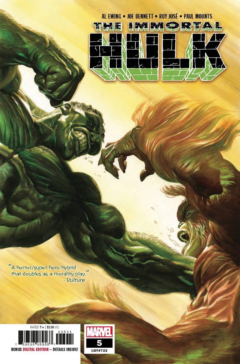 The Immortal Hulk #5 (2018)