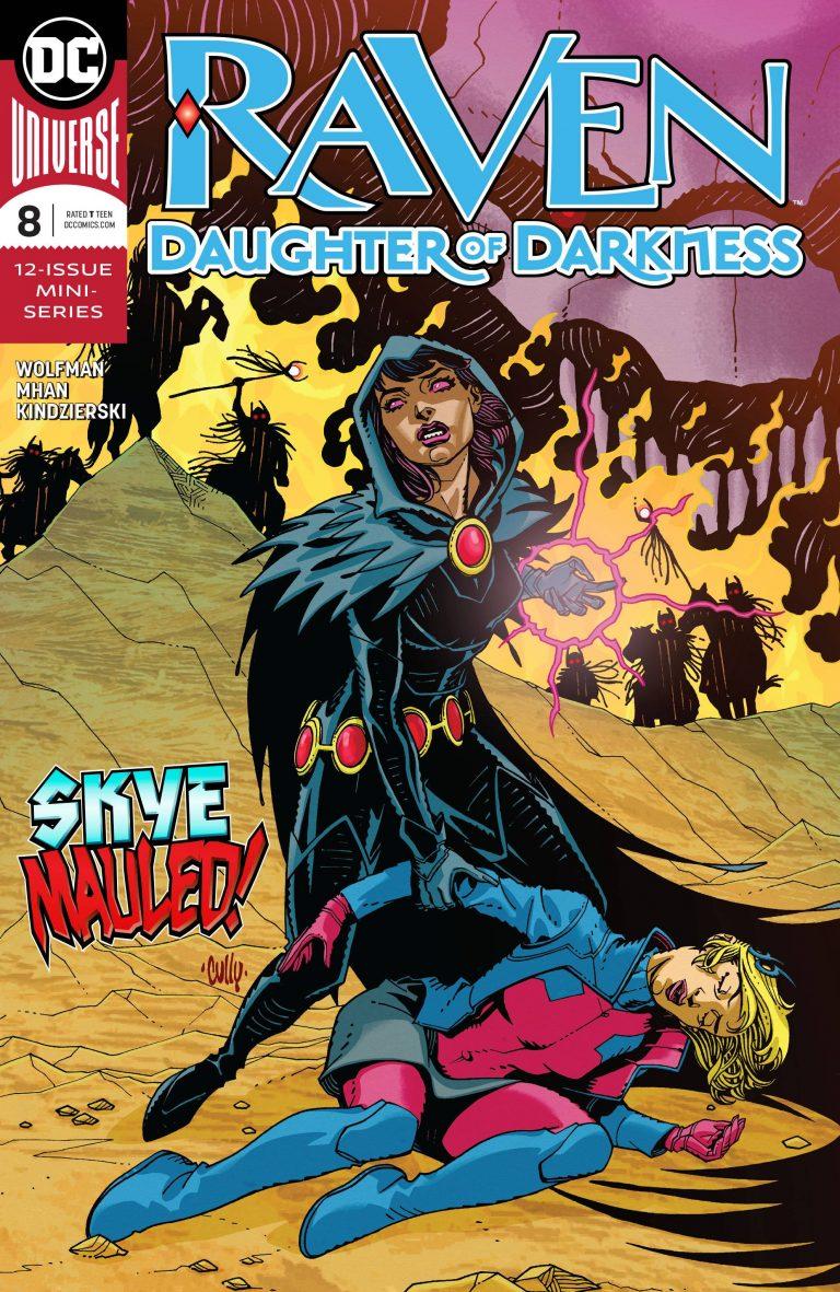 Raven: Daughter Of Darkness #8 (2018)