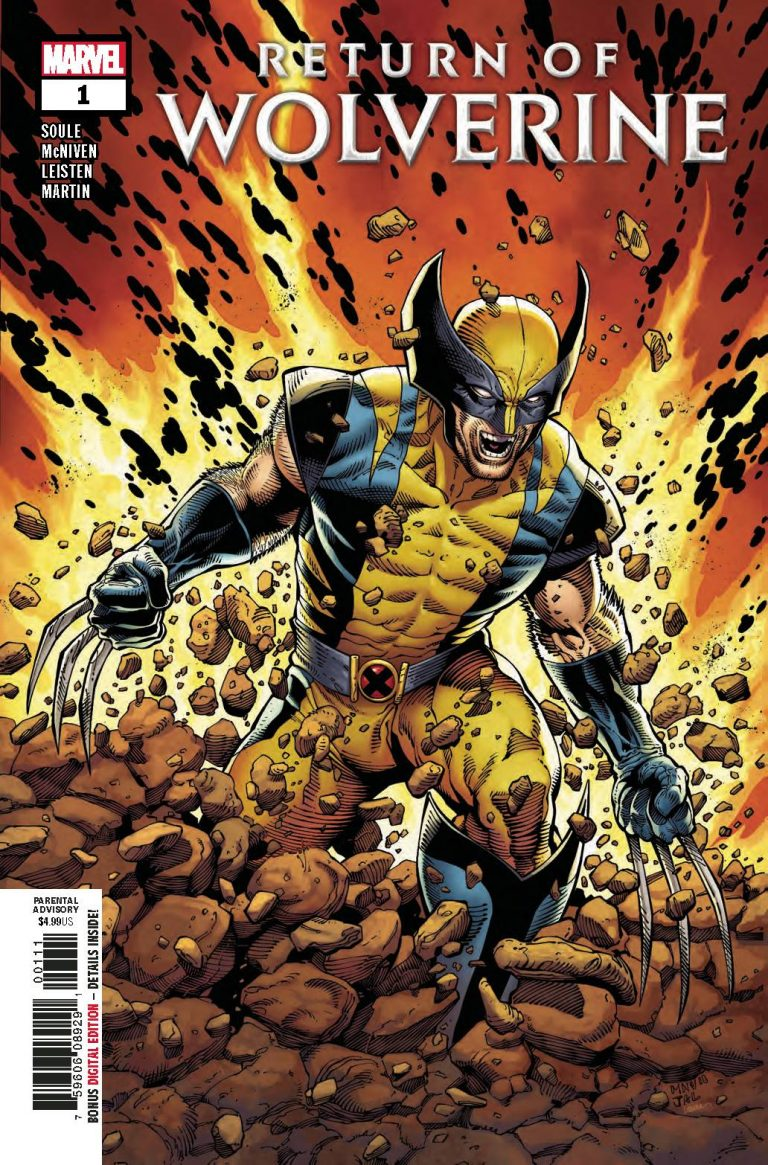 Return Of Wolverine #1 (2018)