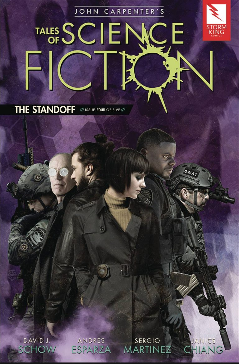 John Carpenter's Tales Of Sci Fiction: The Standoff #4 (2018)