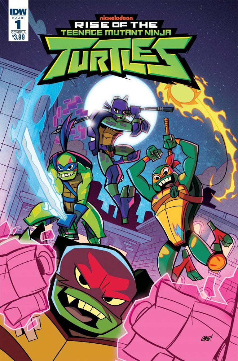Teenage Mutant Ninja Turtles: Rise of the TMNT #1 (2018)