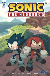 Sonic The Hedgehog #10 (2018)