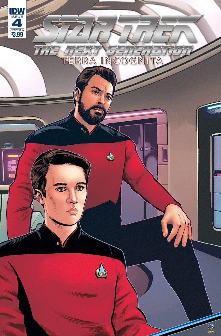 Star Trek The Next Generation: Terra Incognita #4 (2018)