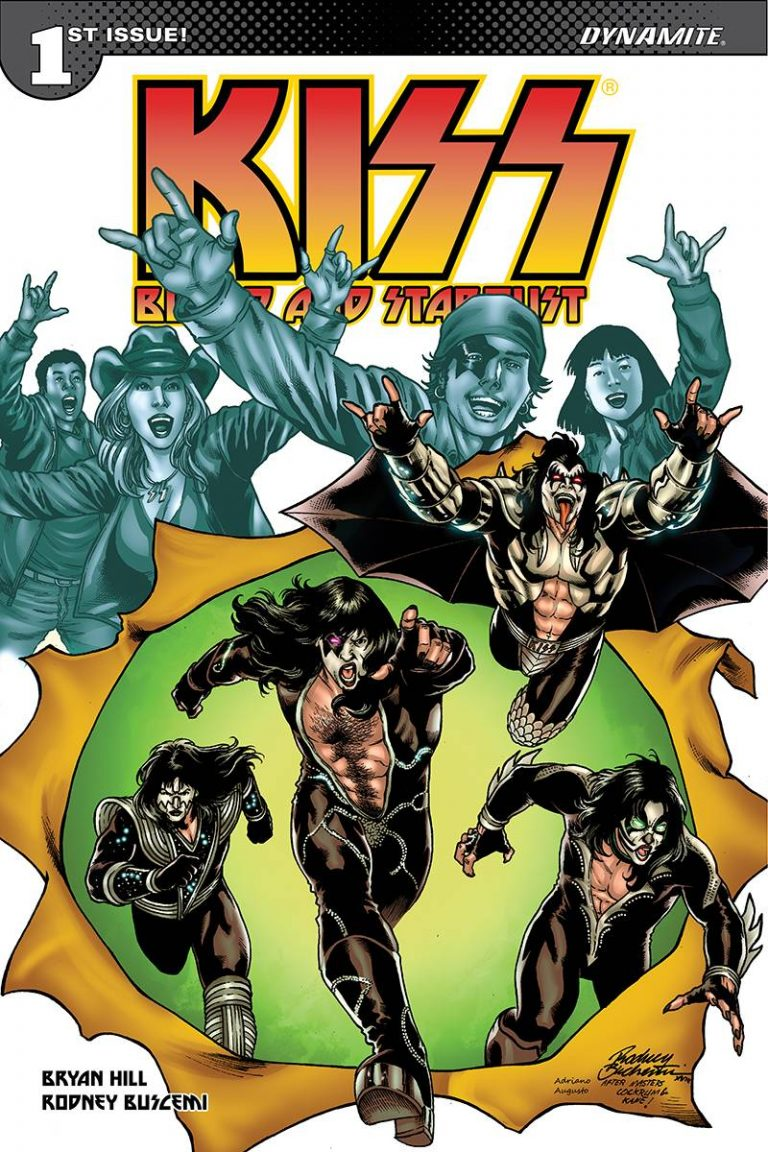 Kiss: Blood and Stardust #1 (2018)