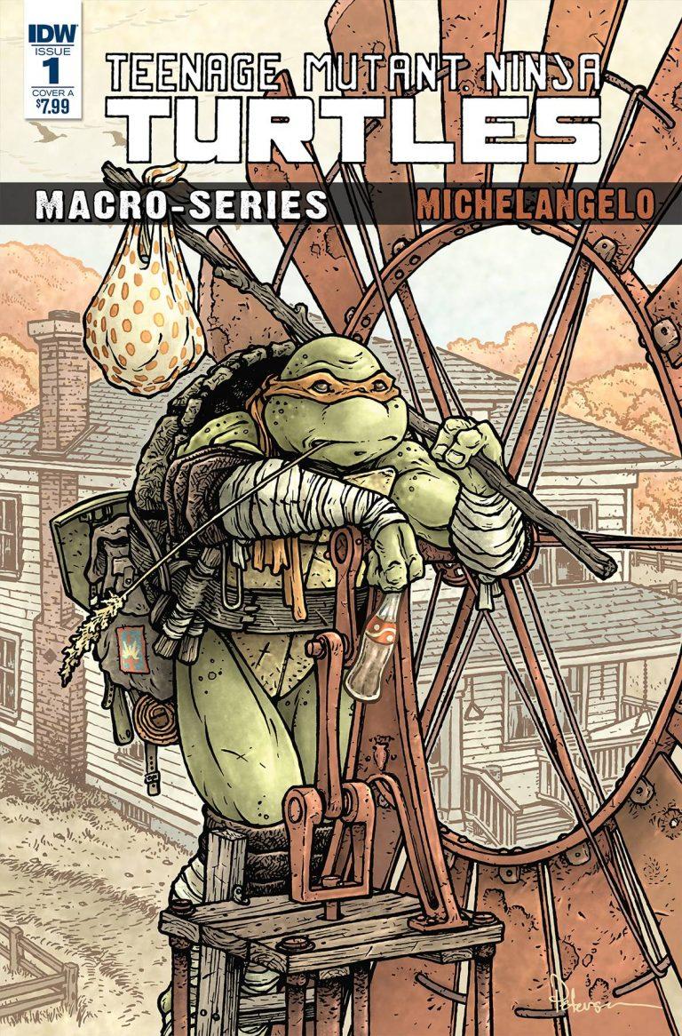 Teenage Mutant Ninja Turtles: Macro-Series #1 (2018)