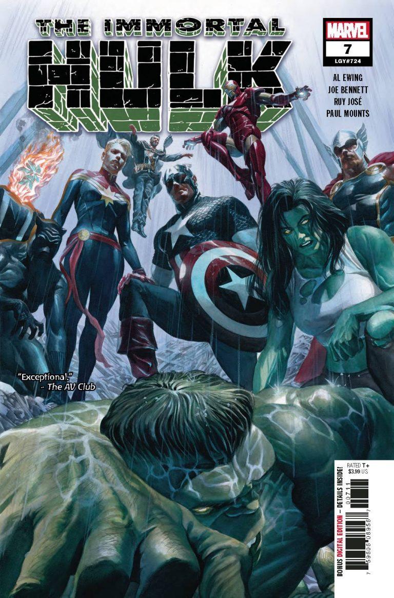 The Immortal Hulk #7 (2018)