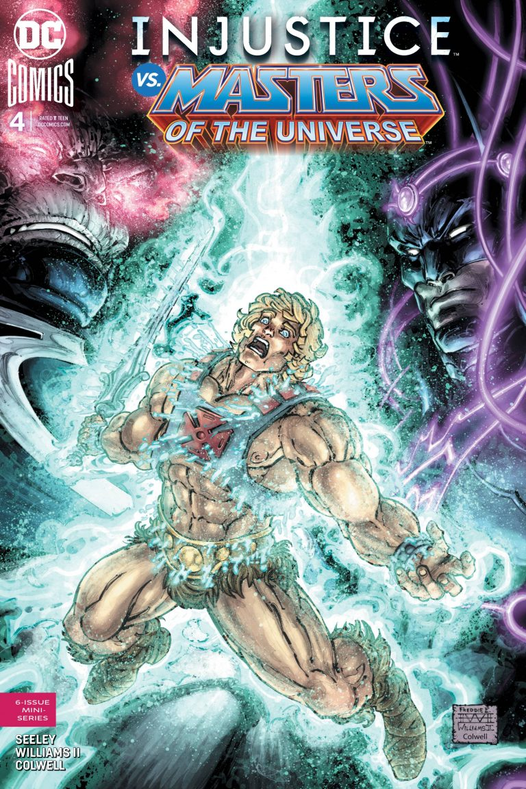 Injustice vs Masters of the Universe #4 (2018)
