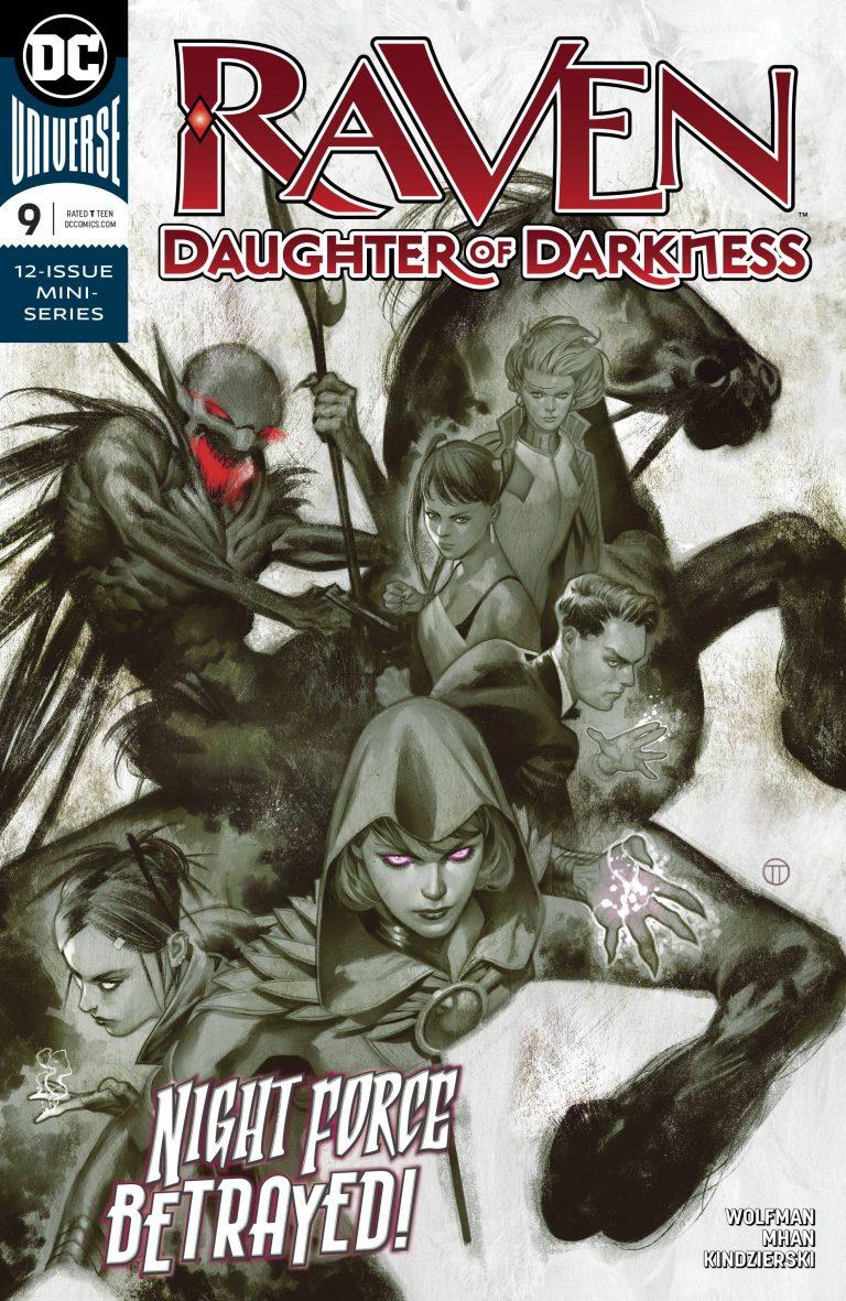 Raven: Daughter Of Darkness #9 (2018)