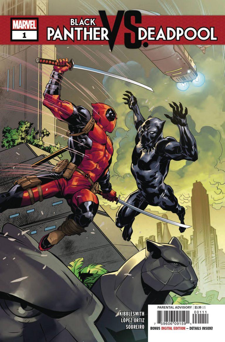 Black Panther vs Deadpool #1 (2018)