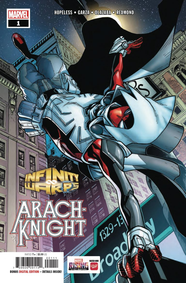 Infinity Warps: Arachknight #1 (2018)