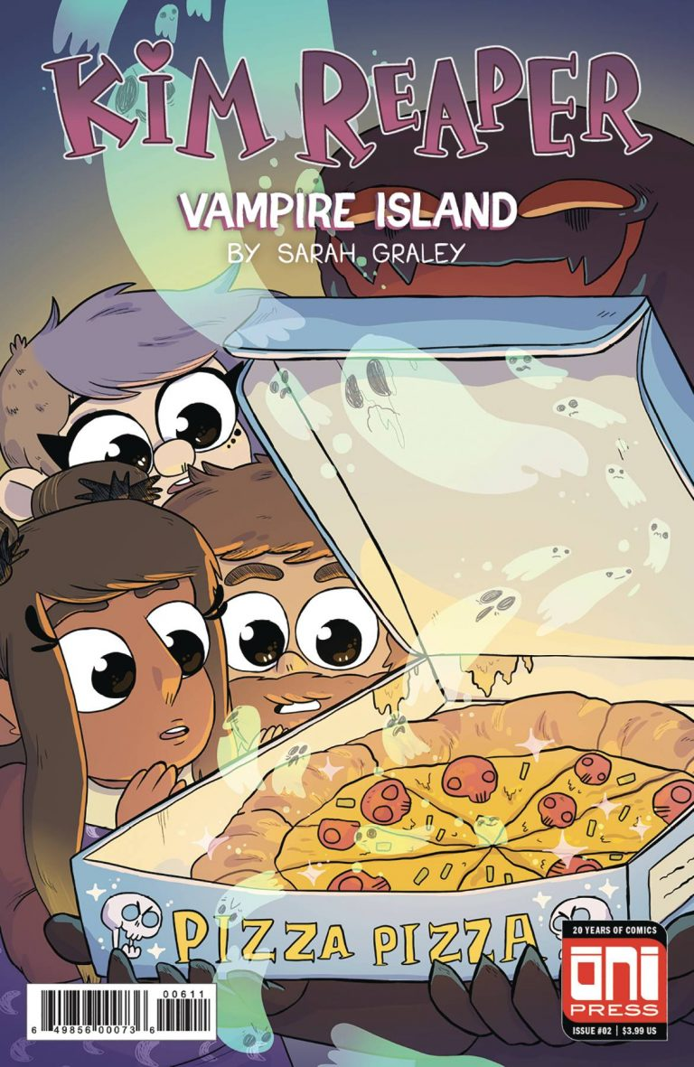 Kim Reaper: Vampire Island #2 (2018)