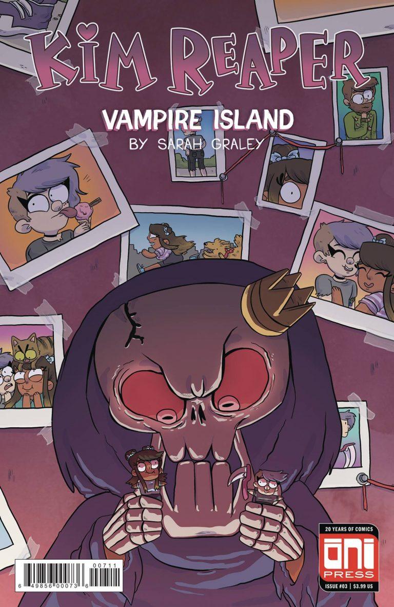 Kim Reaper: Vampire Island #3 (2018)