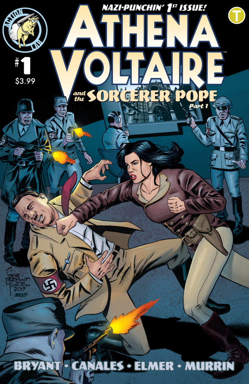 Athena Voltaire and the Sorcerer Pope #1 (2018)