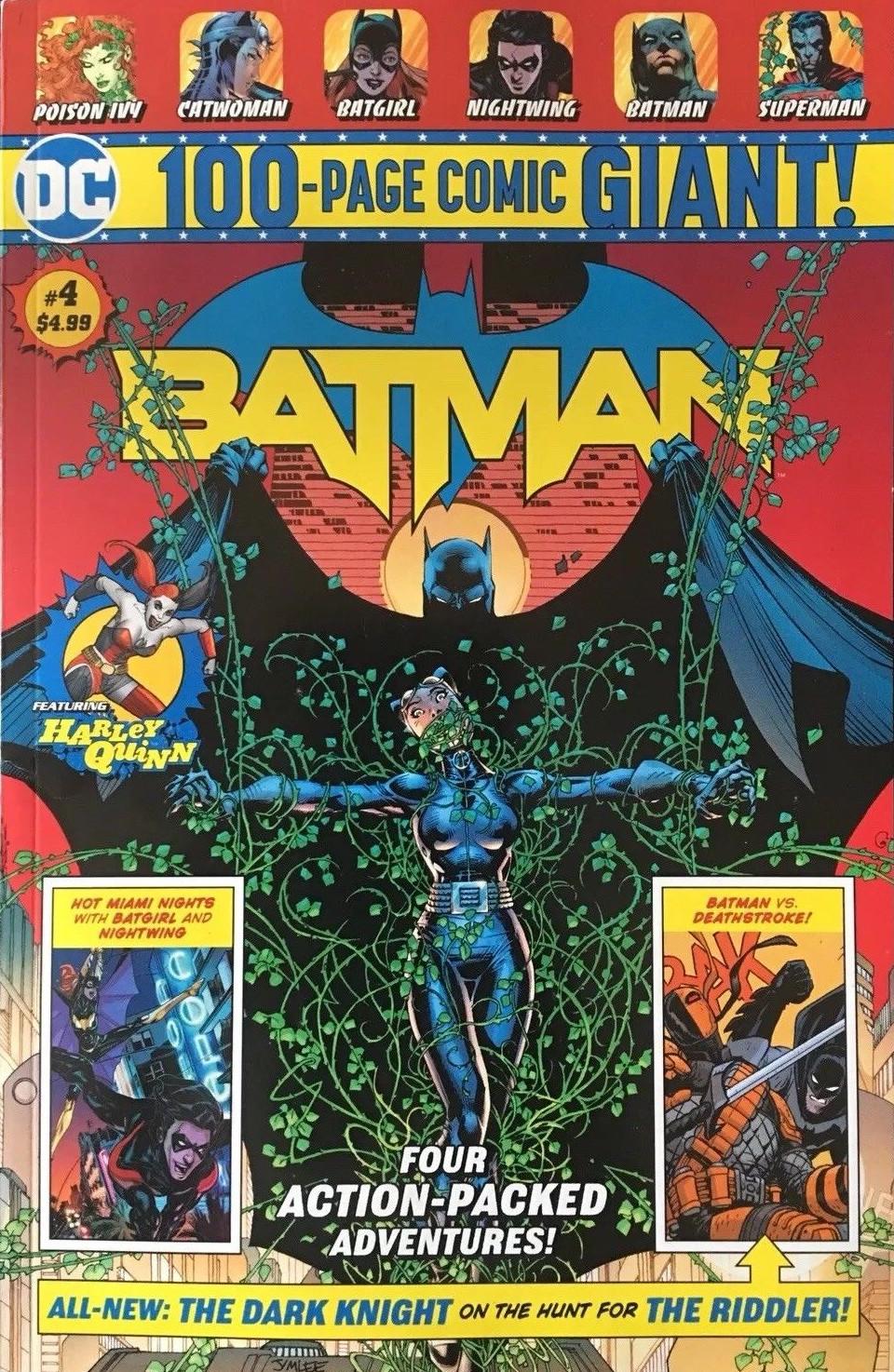 Batman 100-Page Giant (Walmart) #4 (2018)