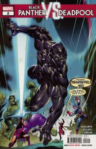 Black Panther vs Deadpool #2 (2018)