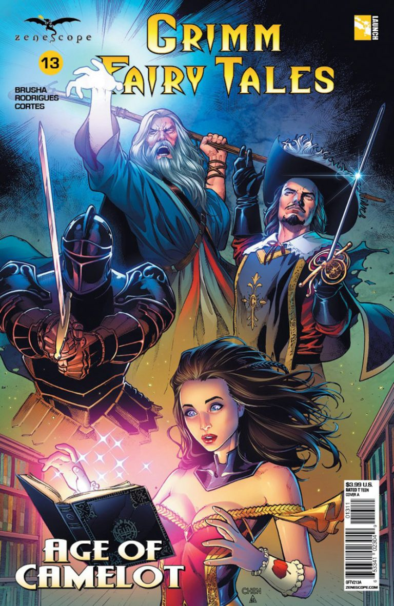 Grimm Fairy Tales #13 (2018)