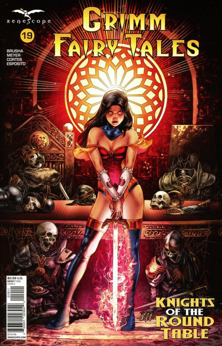 Grimm Fairy Tales #19 (2018)