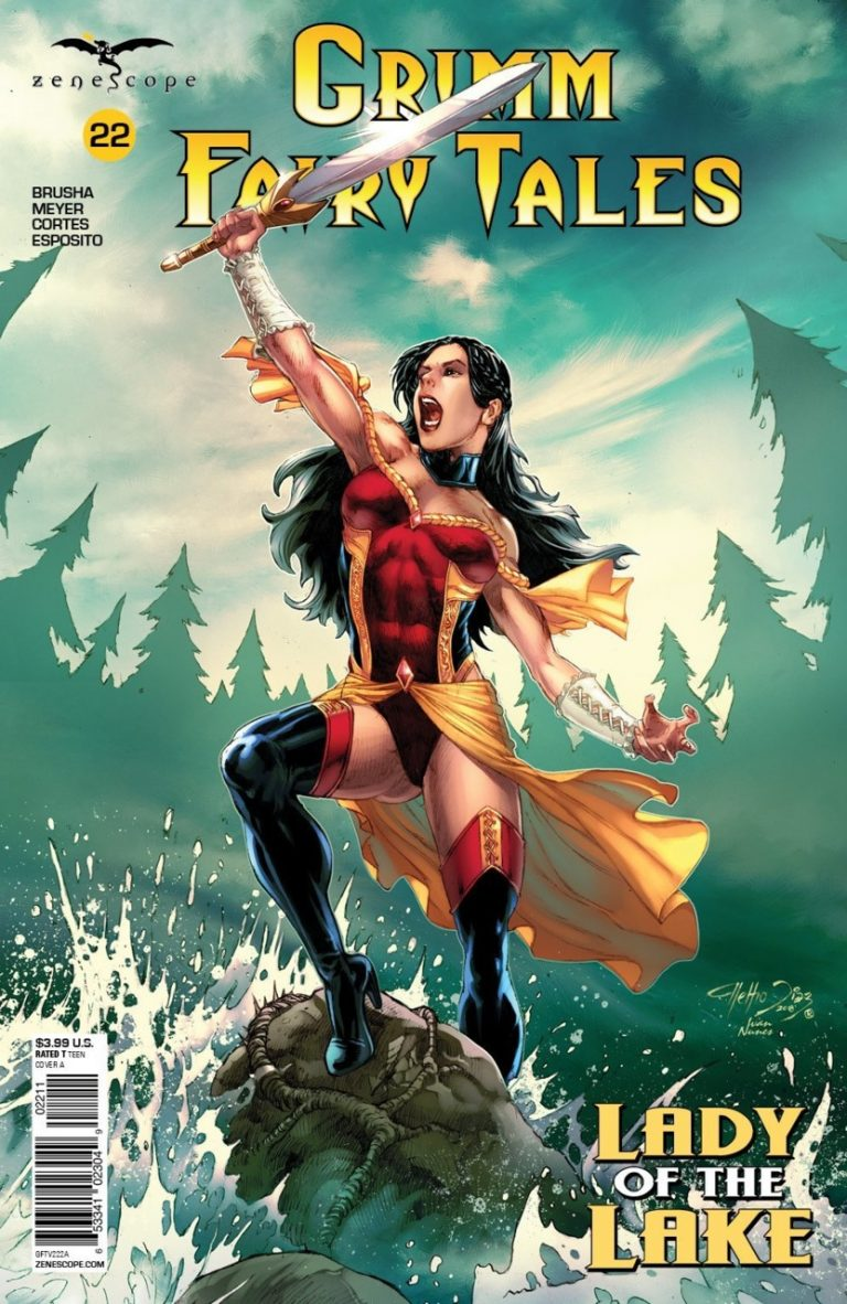 Grimm Fairy Tales #22 (2018)