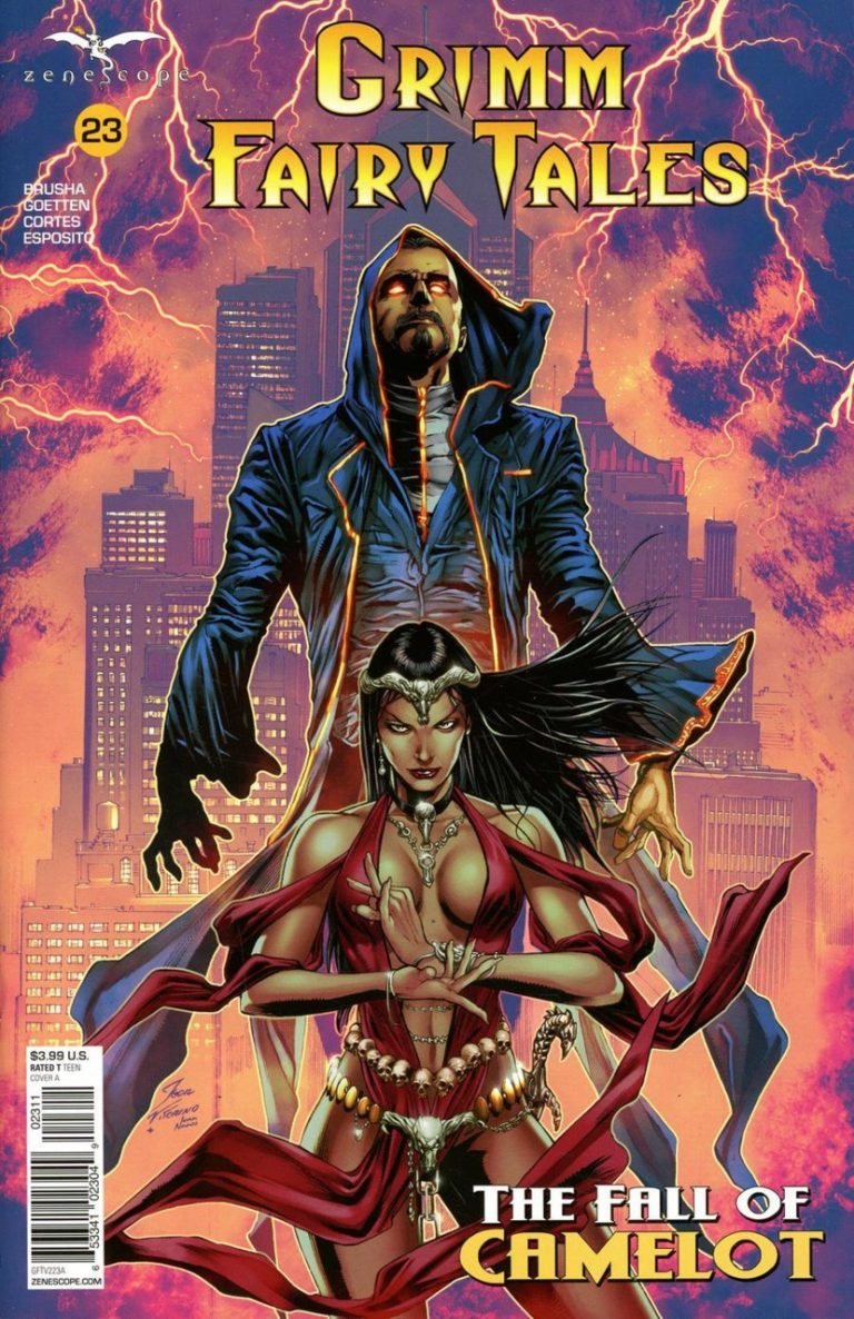 Grimm Fairy Tales #23 (2018)