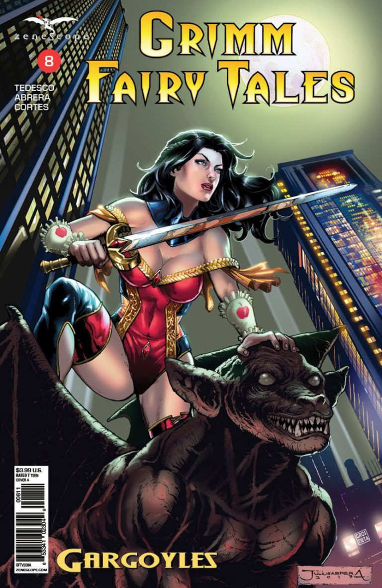 Grimm Fairy Tales #8 (2016)