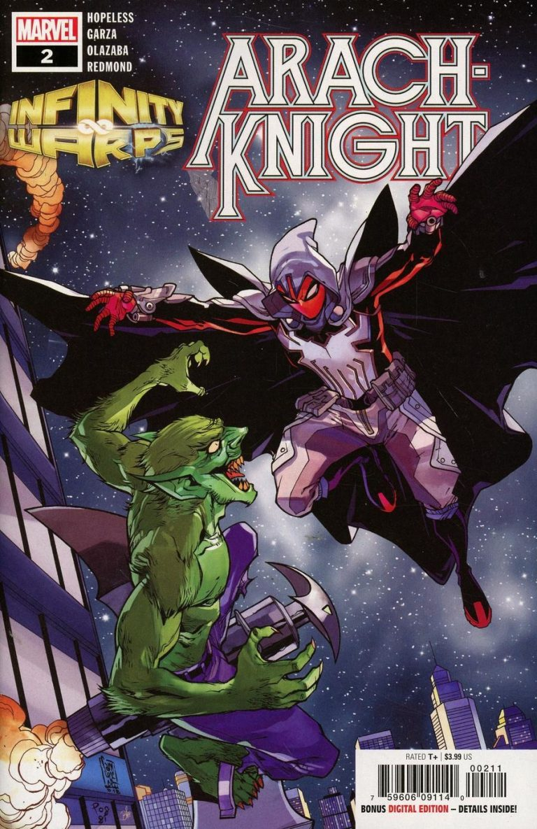 Infinity Warps: Arachknight #2 (2018)