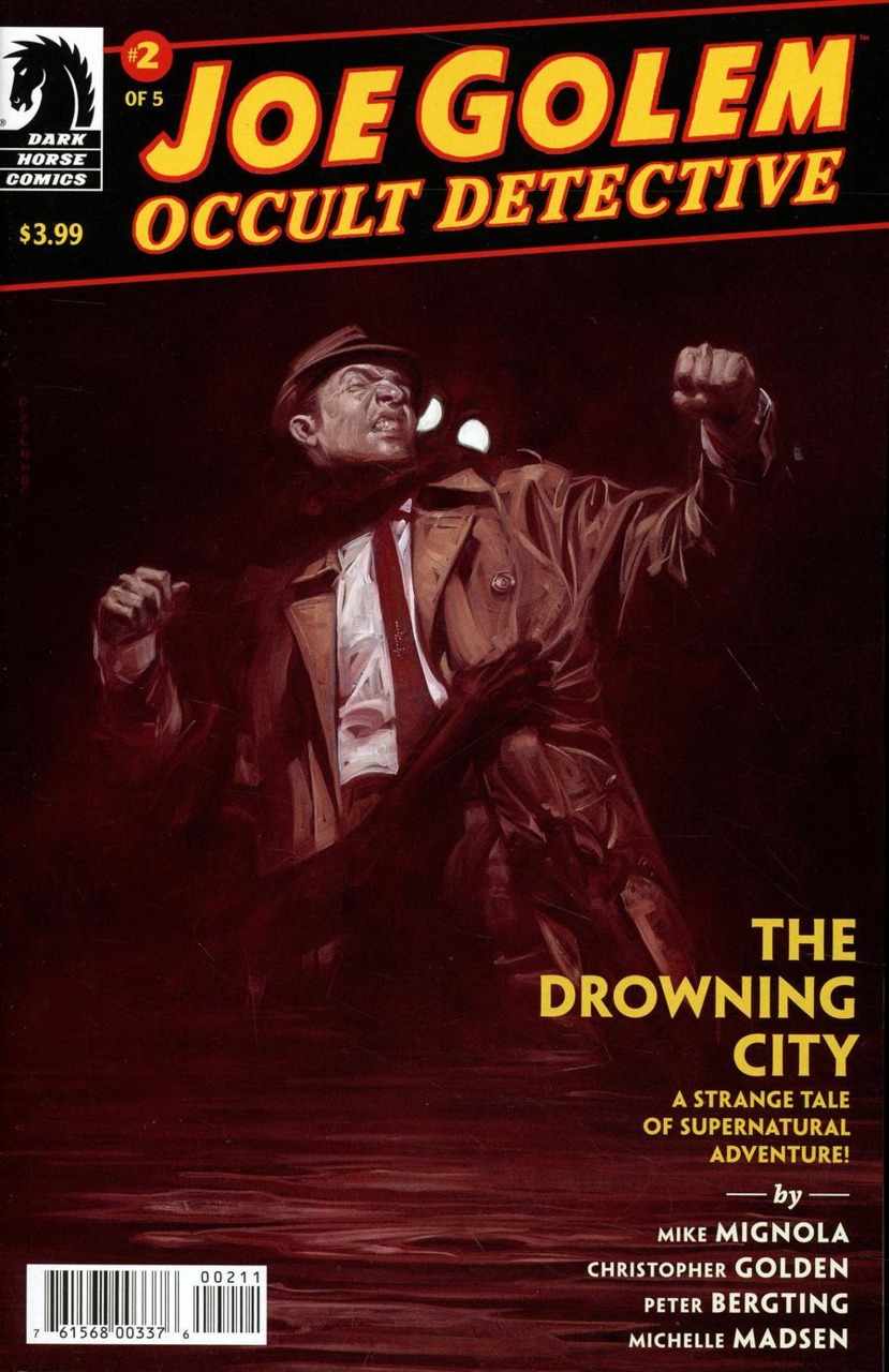 Joe Golem: Occult Detective - The Drowning City #2 (2018)