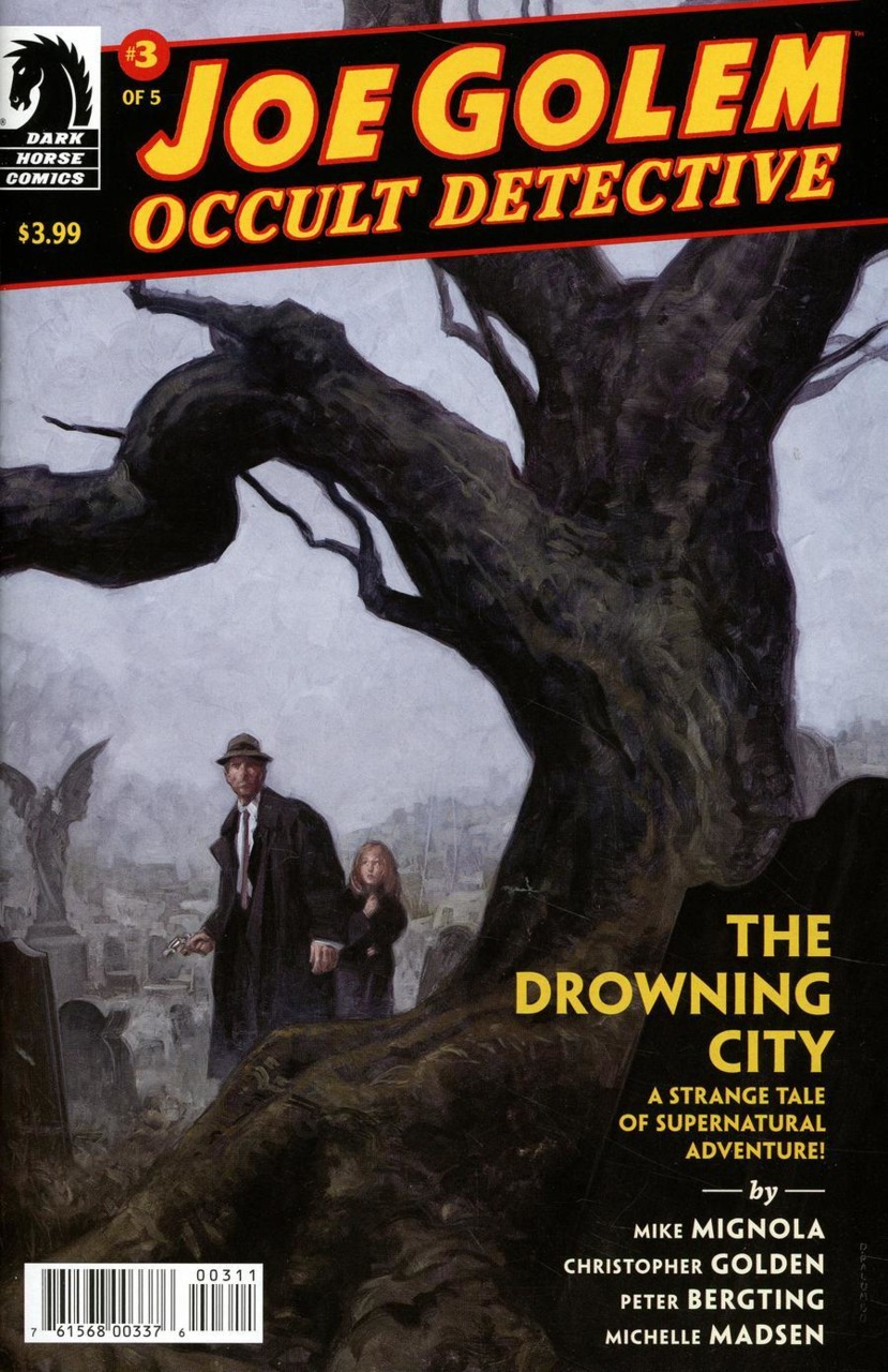 Joe Golem: Occult Detective - The Drowning City #3 (2018)