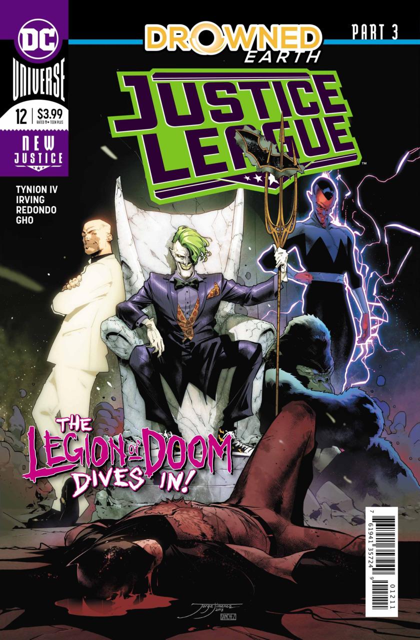 Justice League #12 (2018)
