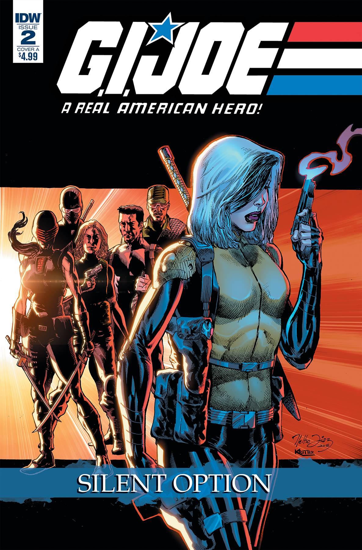 GI Joe: A Real American Hero - Silent Option #2 (2018)