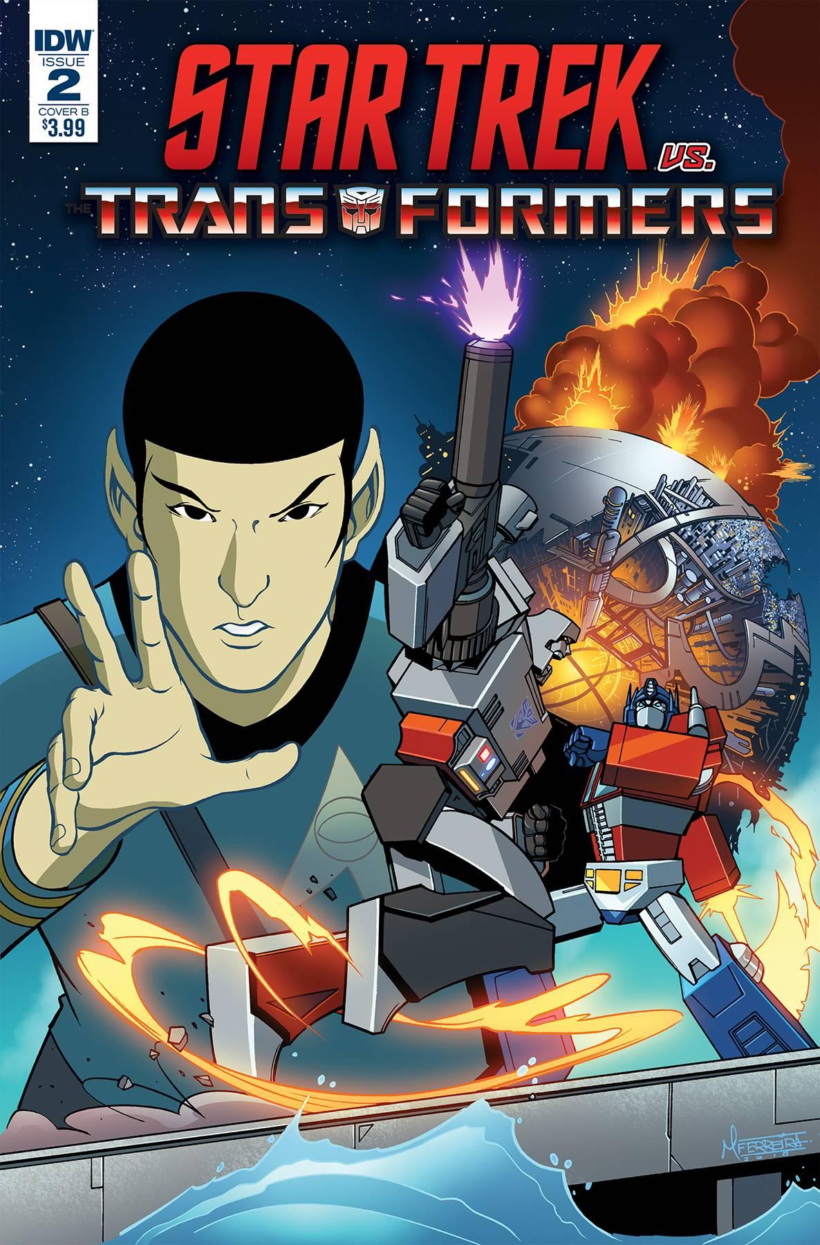 Star Trek vs Transformers #2 (2018)