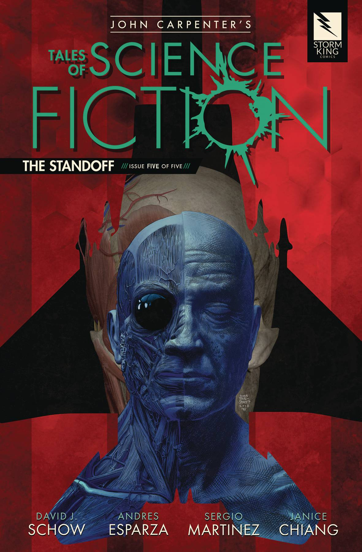 John Carpenter's Tales Of Sci Fiction: The Standoff #5 (2018)