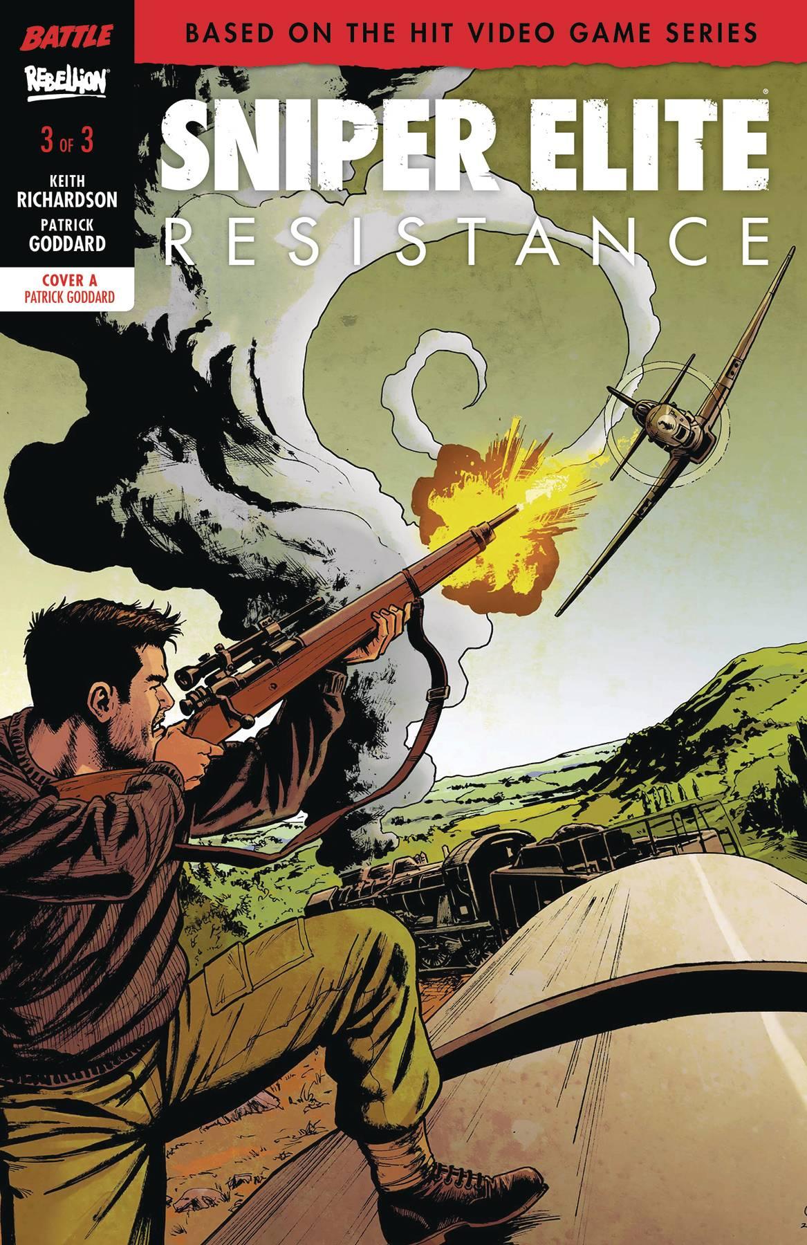 Sniper Elite: Resistance #3 (2018)