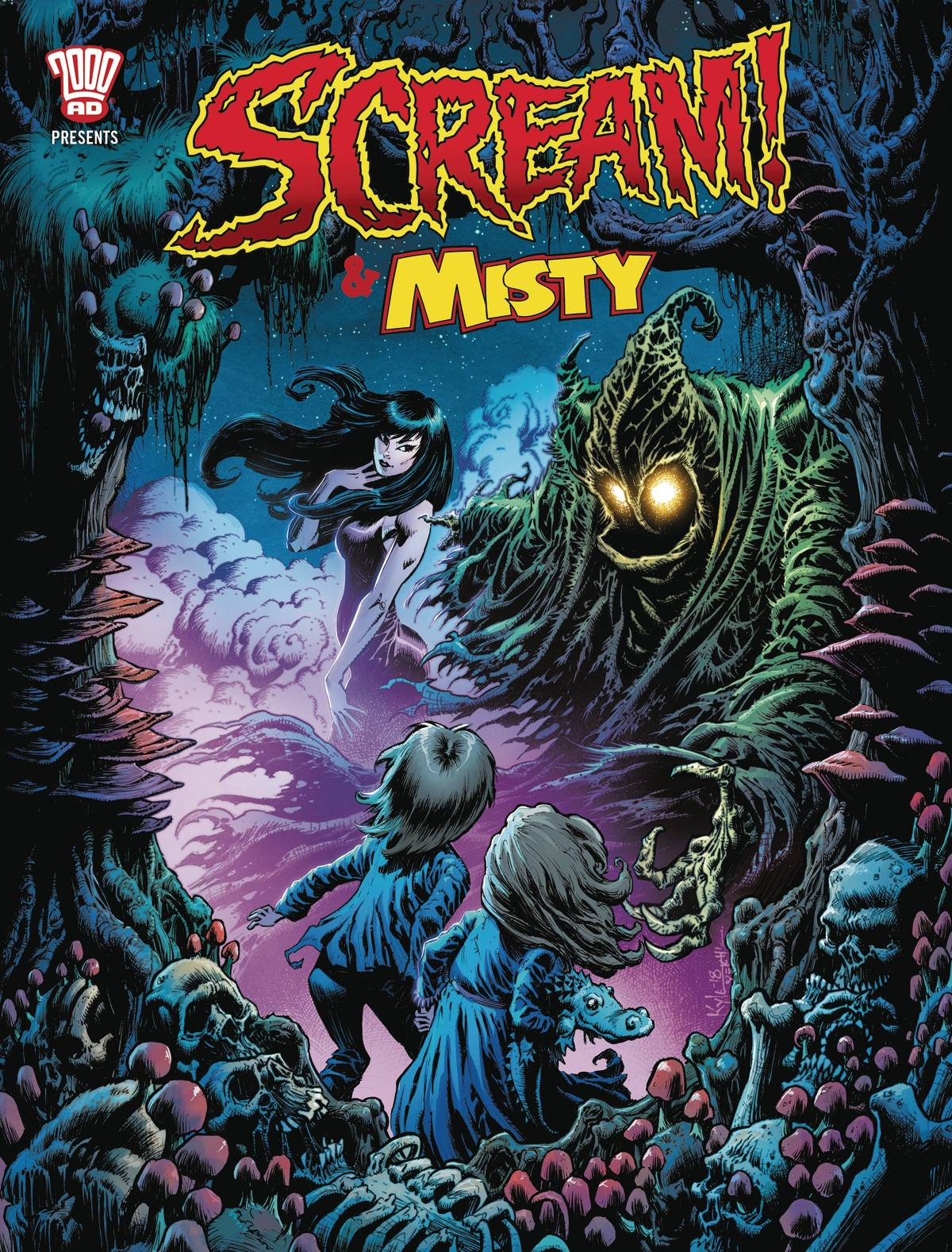 Scream & Misty Halloween Special 2018 #