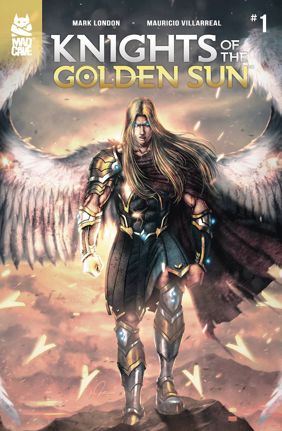Knights Of The Golden Sun #1 (2018)