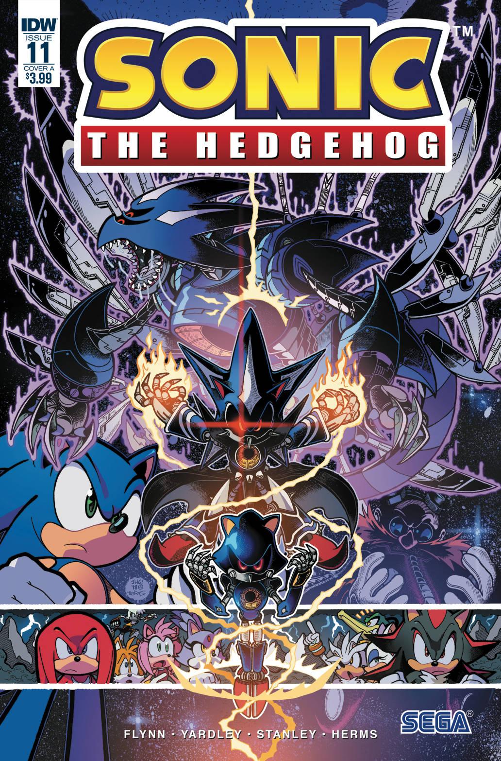 Sonic The Hedgehog #11 (2018)
