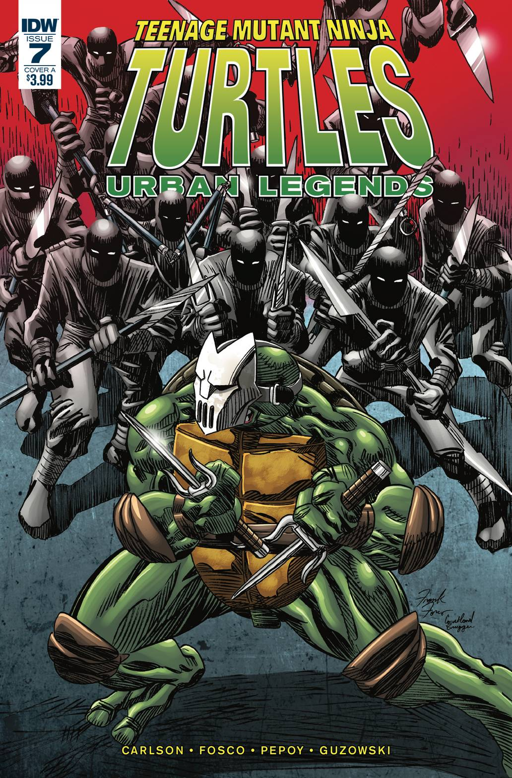 Teenage Mutant Ninja Turtles: Urban Legends #7 (2018)