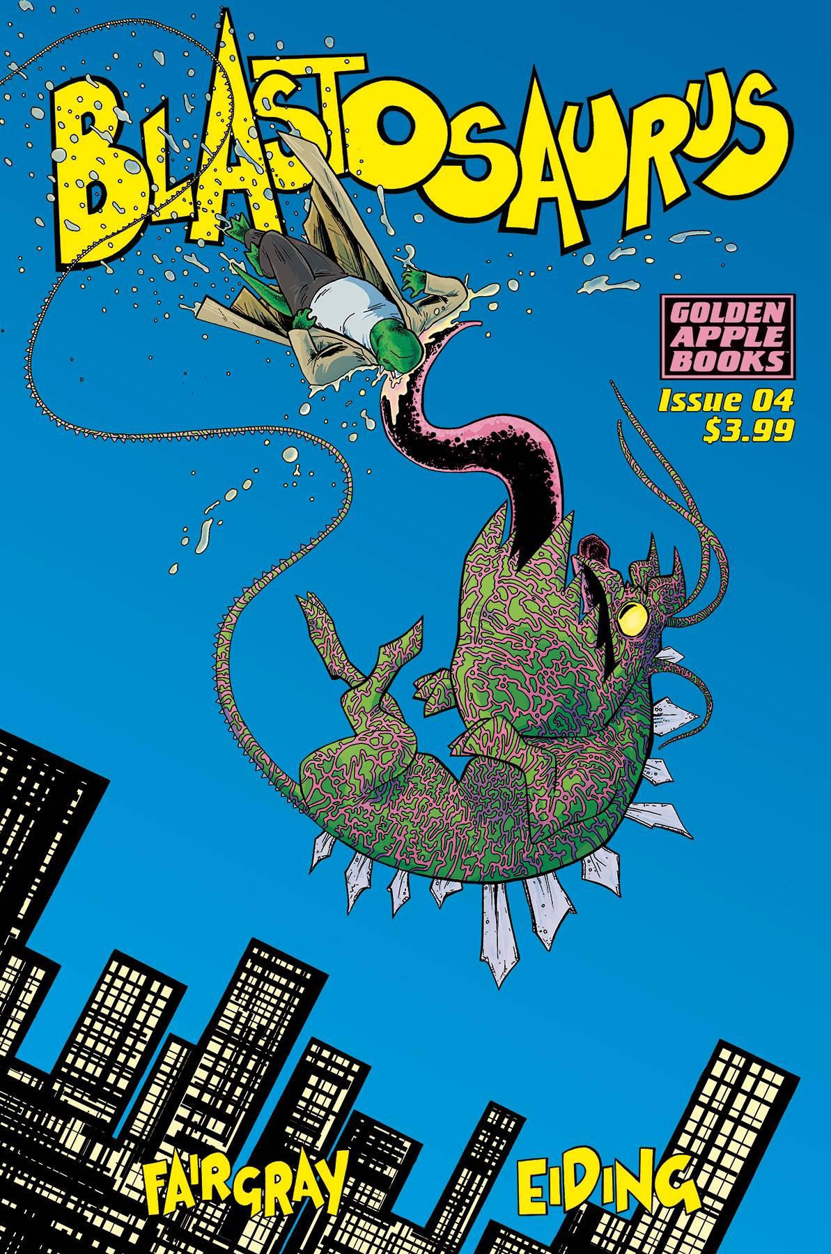 Blastosaurus #4 (2018)