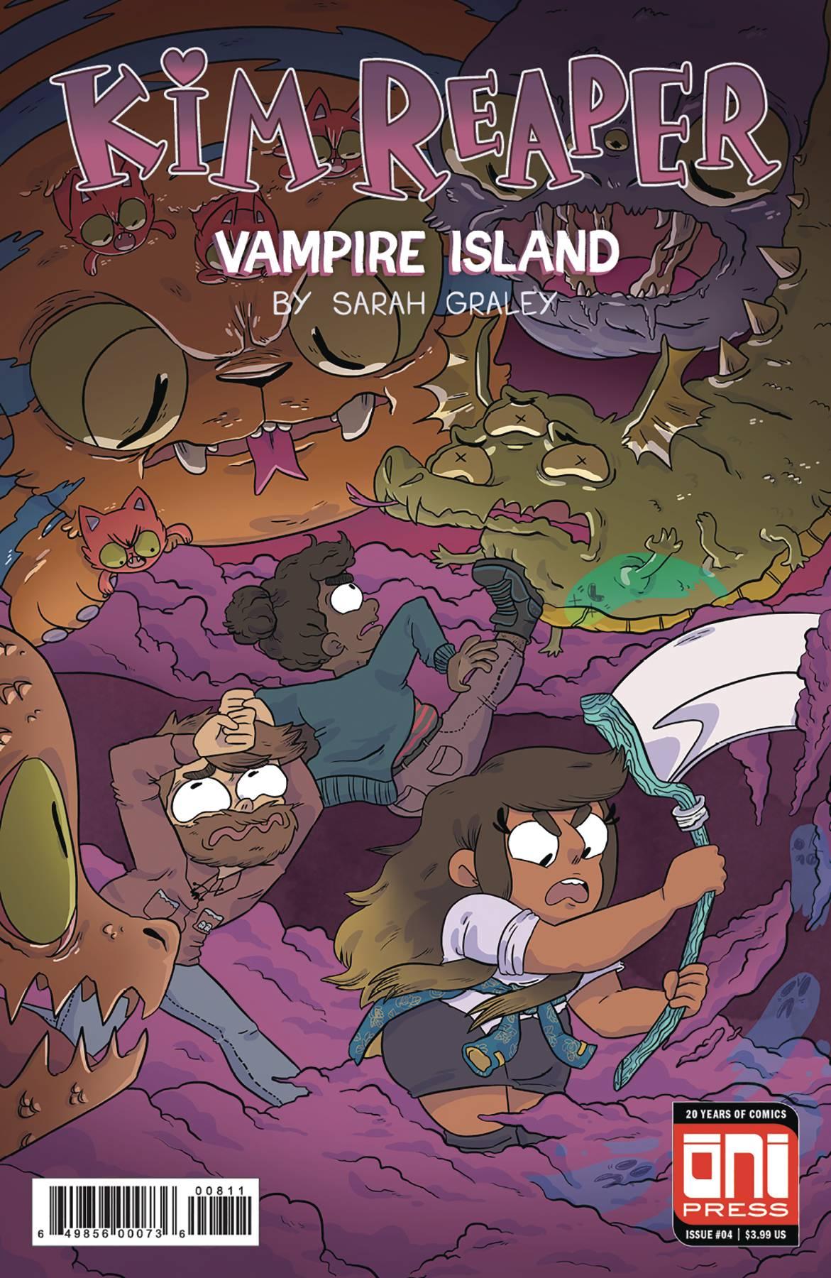 Kim Reaper: Vampire Island #4 (2018)