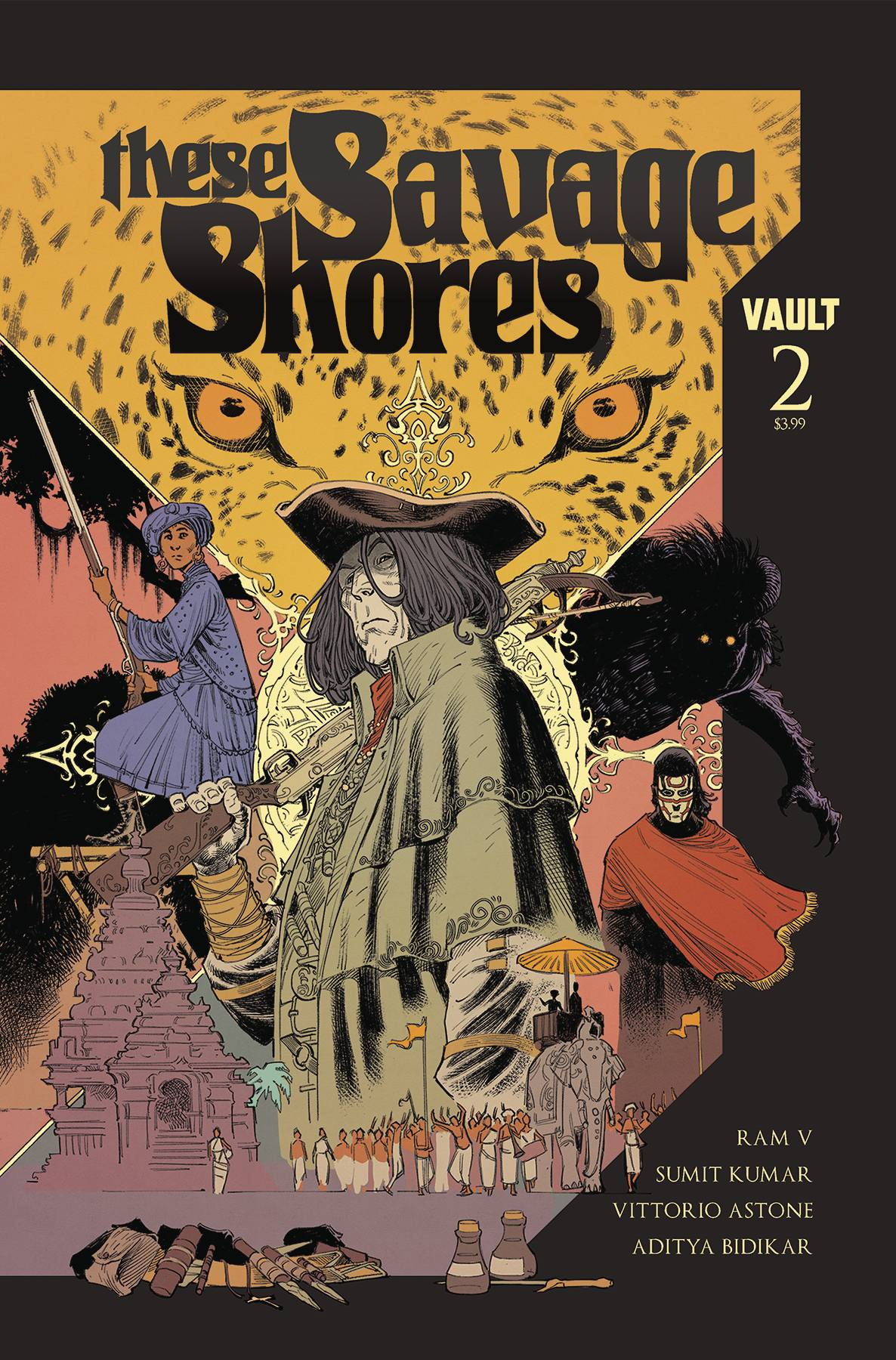 These Savage Shores #2 (2018)