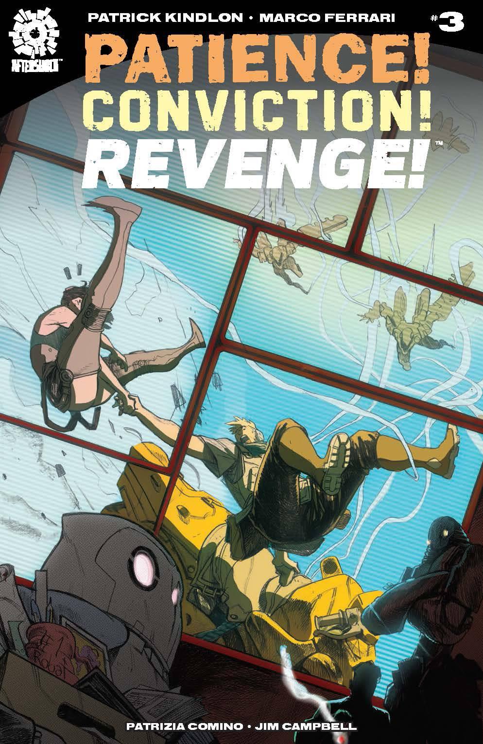 Patience Conviction Revenge #3 (2018)