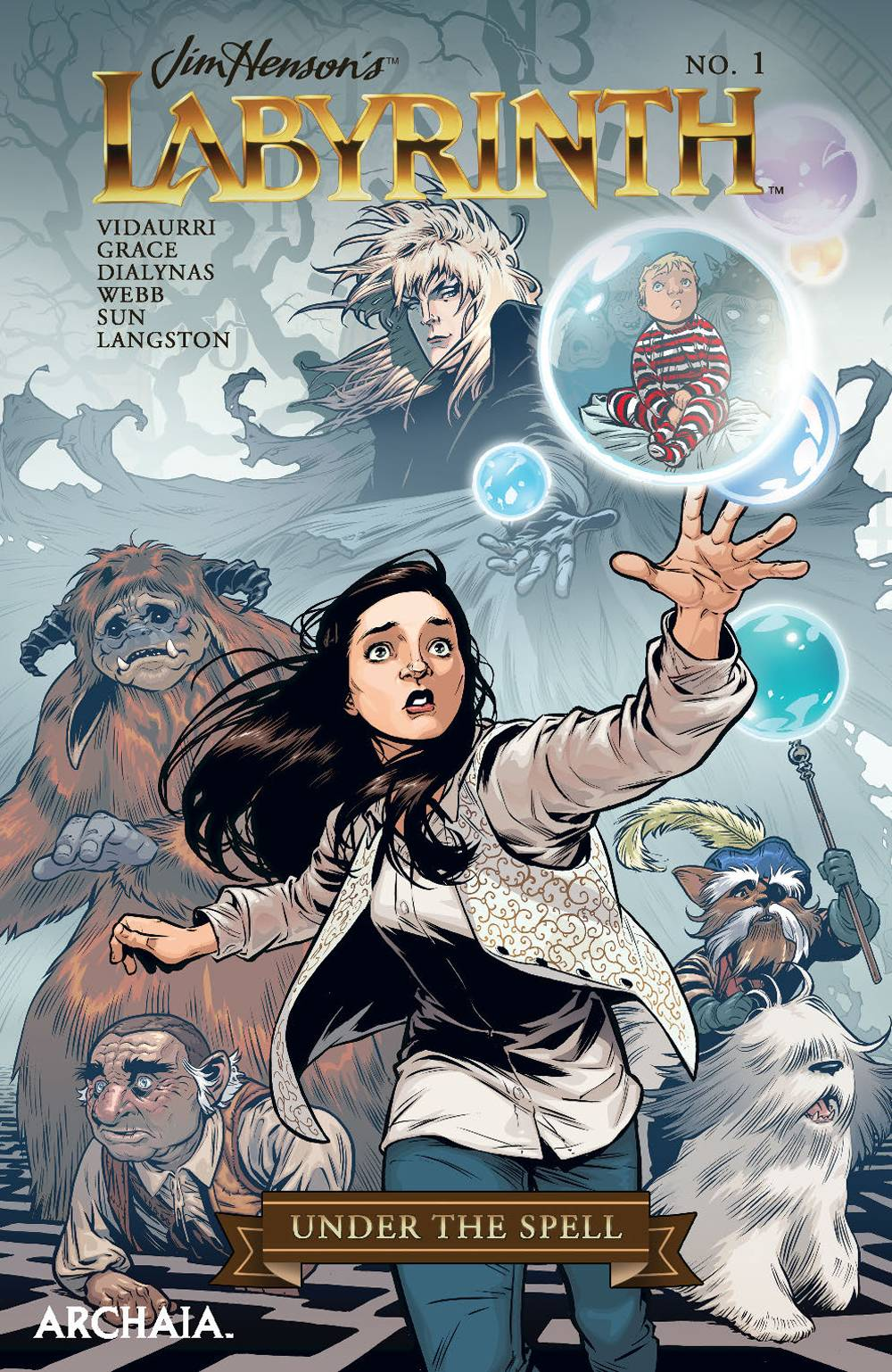 Jim Henson's Labyrinth: Under The Spell #1 (2018)