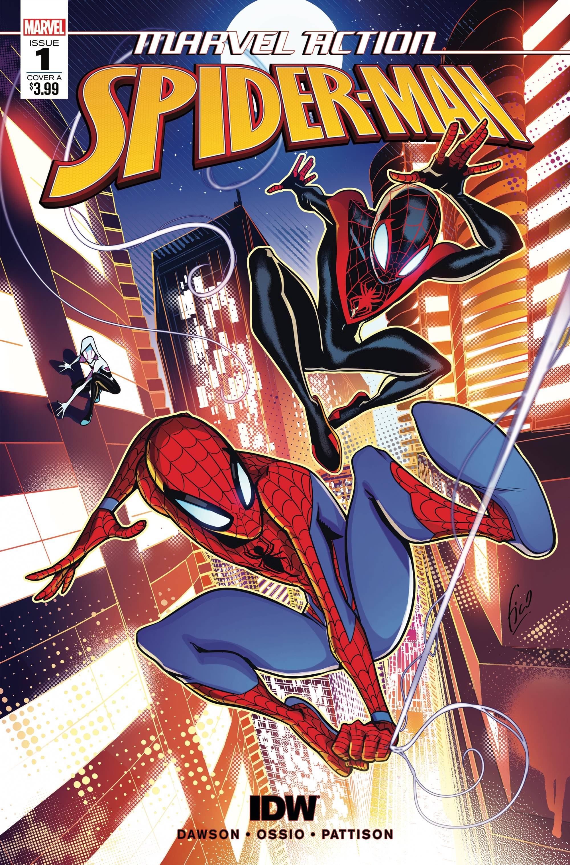 Marvel Action Spider-Man (IDW) #1 (2018)