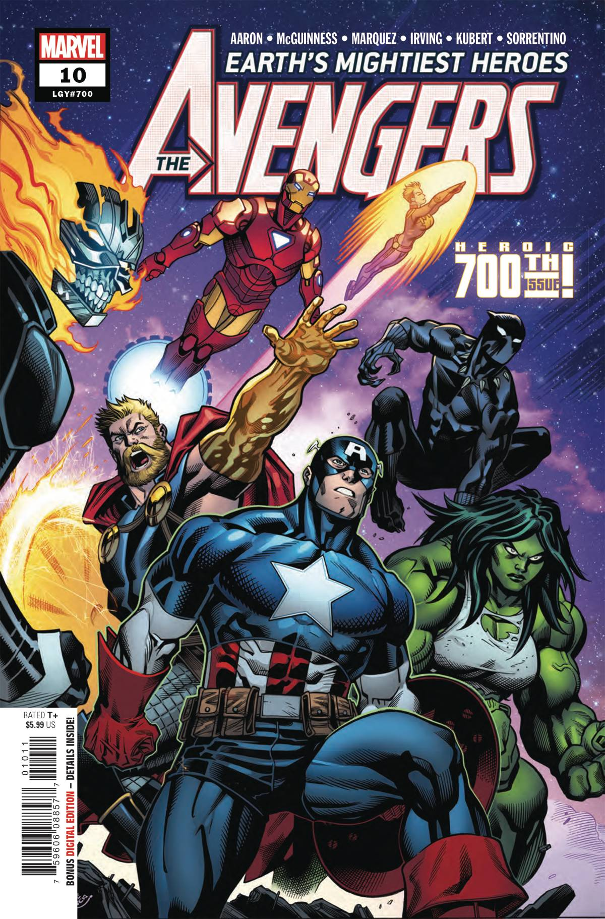 Avengers: Earth's Mightiest Heros #10 (2018)