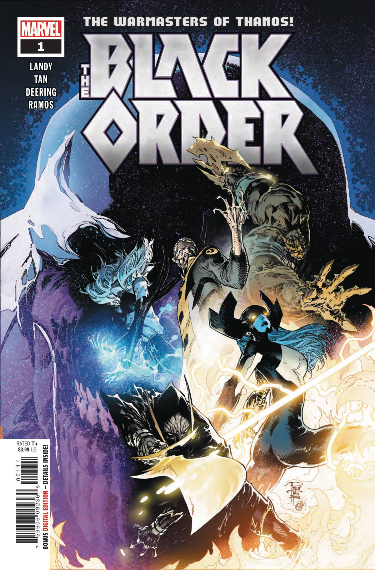 The Black Order #1 (2018)