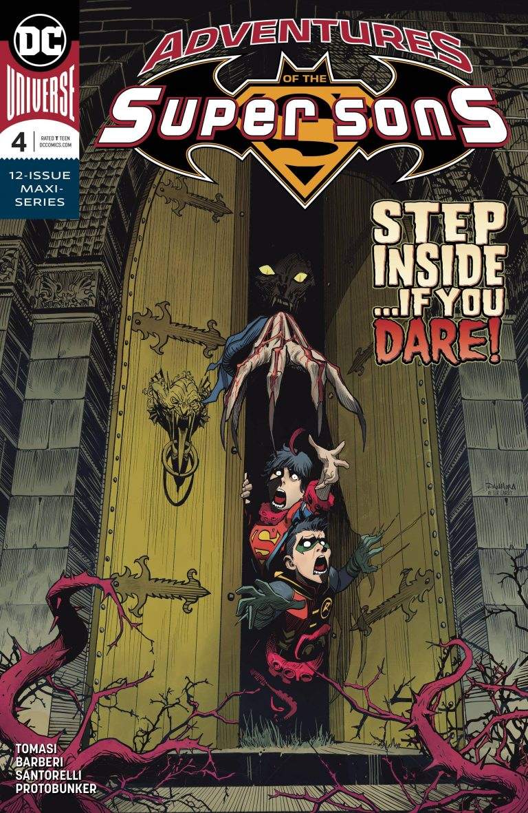 Adventures Of The Super Sons #4 (2018)