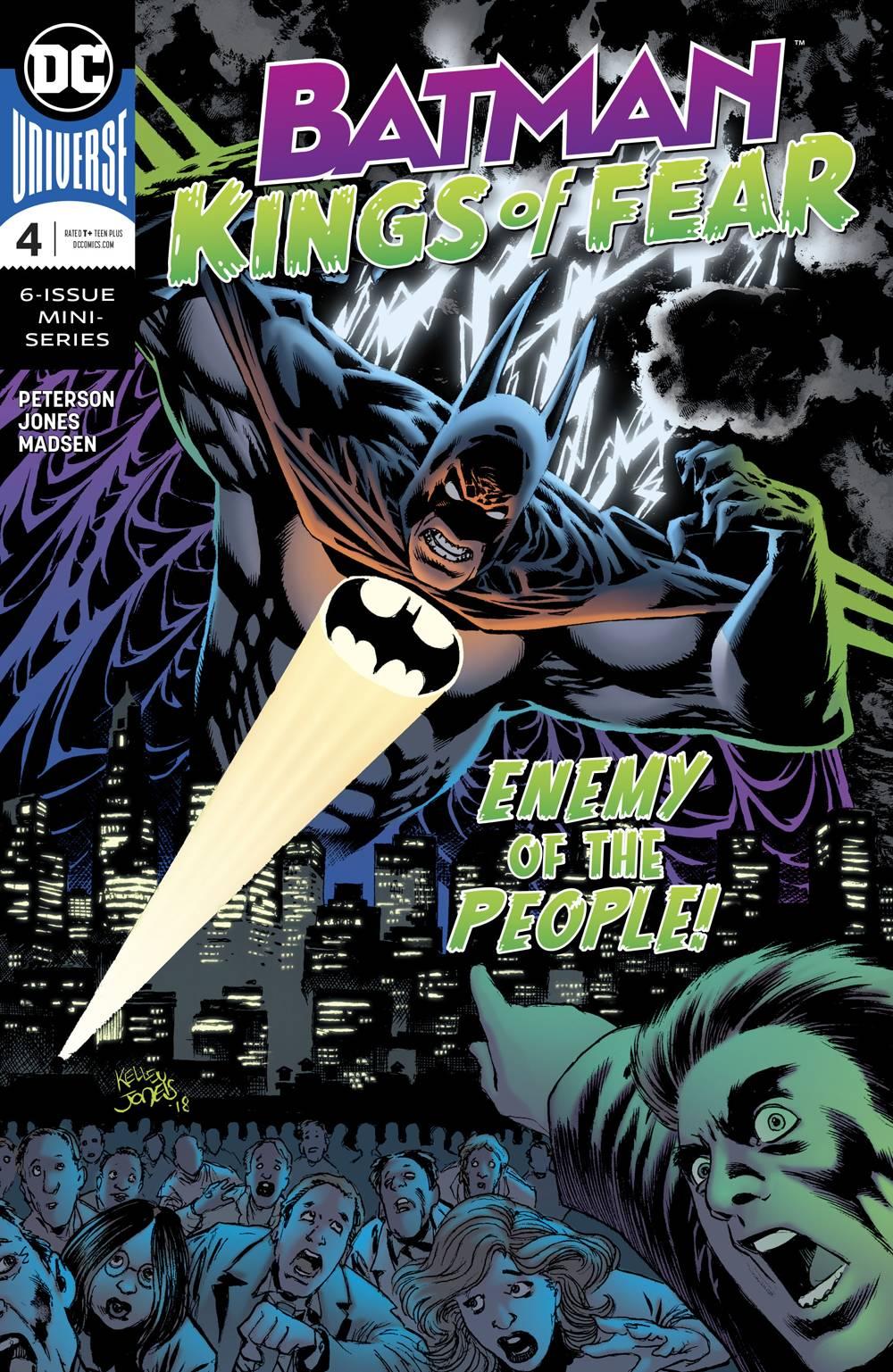 Batman: Kings Of Fear #4 (2018)