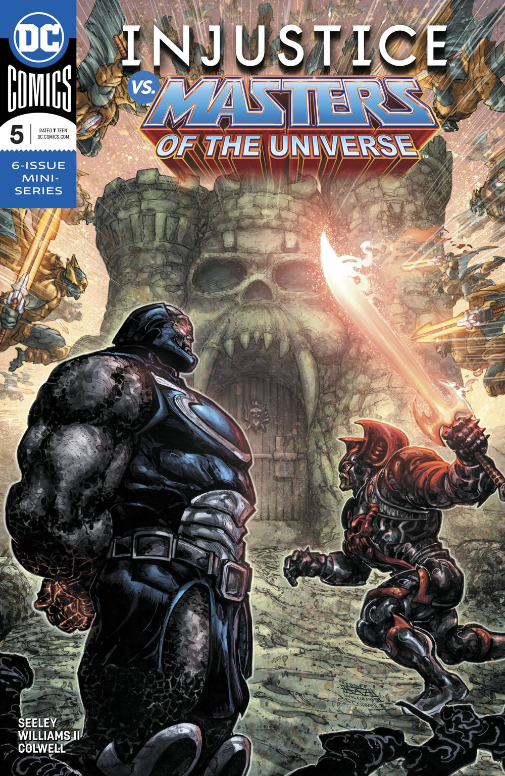 Injustice vs Masters of the Universe #5 (2018)