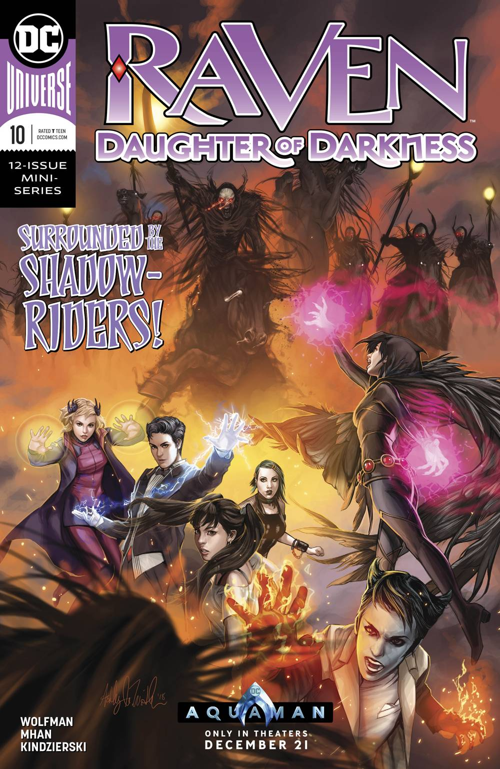 Raven: Daughter Of Darkness #10 (2018)