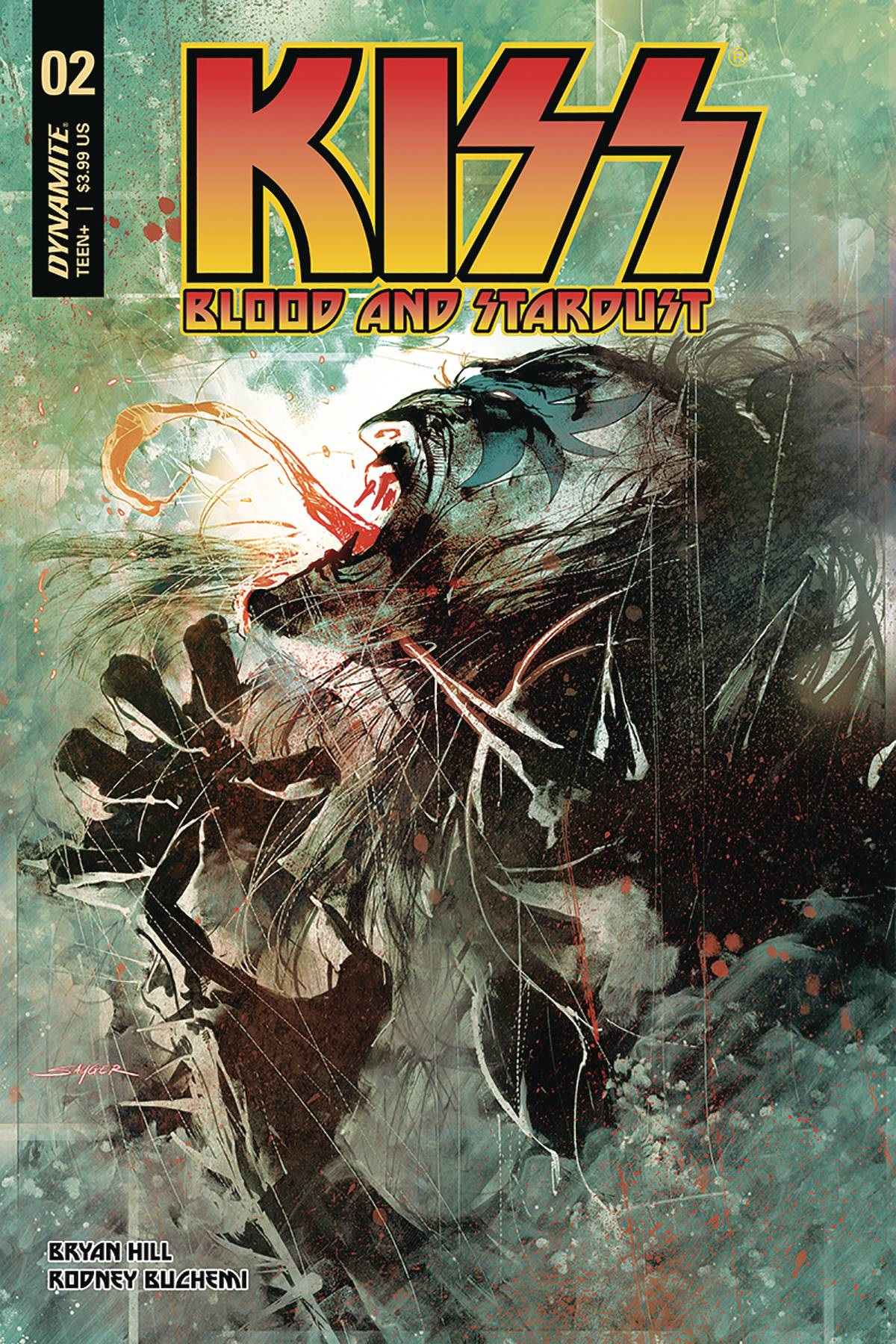 Kiss: Blood and Stardust #2 (2018)