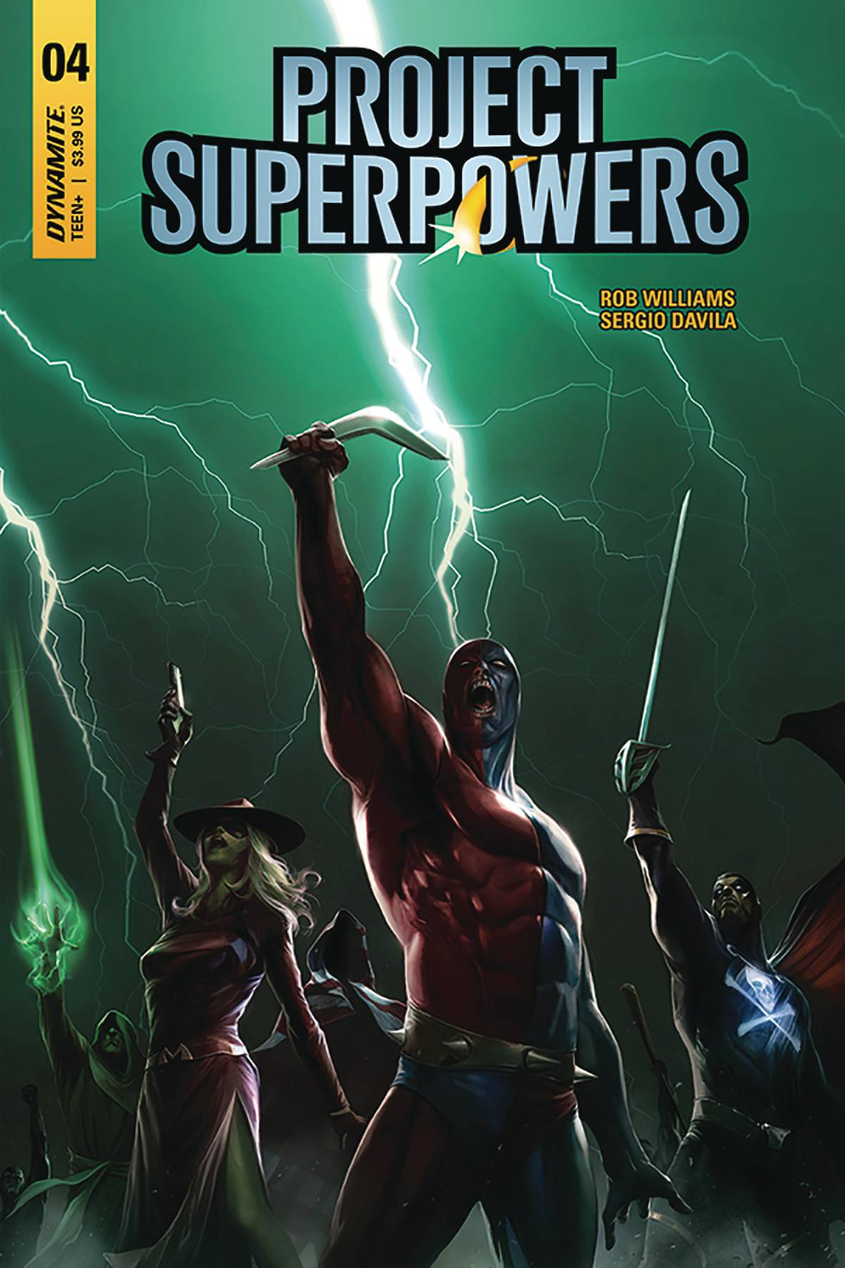 Project Superpowers #4 (2018)